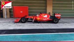 pic-2 / NINETH TEST WITH SCUDERIA FERRARI: Antonio Fuoco tests pirelli 2017 wider tyres at Yas Marina Circuit, Yas Island, Abu Dhabi, United Arab Emirates, THE WIDER TYRES FOR 2017 SEASON