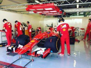 pic-3 / NINETH TEST WITH SCUDERIA FERRARI: Antonio Fuoco tests pirelli 2017 wider tyres at Yas Marina Circuit, Yas Island, Abu Dhabi, United Arab Emirates, THE WIDER TYRES FOR 2017 SEASON