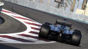 Lewis Hamilton, Mercedes, during Pirelli 2017 tyre testing in Abu Dhabi © Foto Studio Colombo