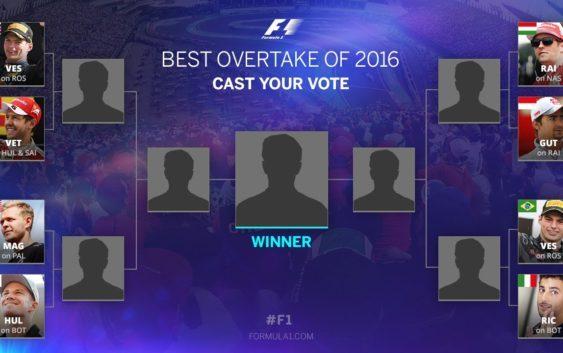 BEST OVERTAKE OF 2016