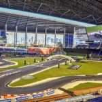 Race Of Champions at Marlins Park, Miami, 22 Jan 2017.